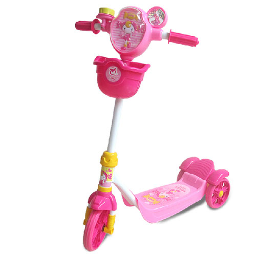 ФОТО free shipping Child tricycle scooter child baby scooter pedal car roller car