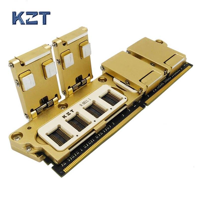 Işıklar ve Aydınlatma'ten Konnektörler'de DDR4 SDRAM Parçacık Test Fikstürü Çok fonksiyonlu hepsi bir arada Jig Bellek Yongası Yanık Soket Mükemmel Kalite title=