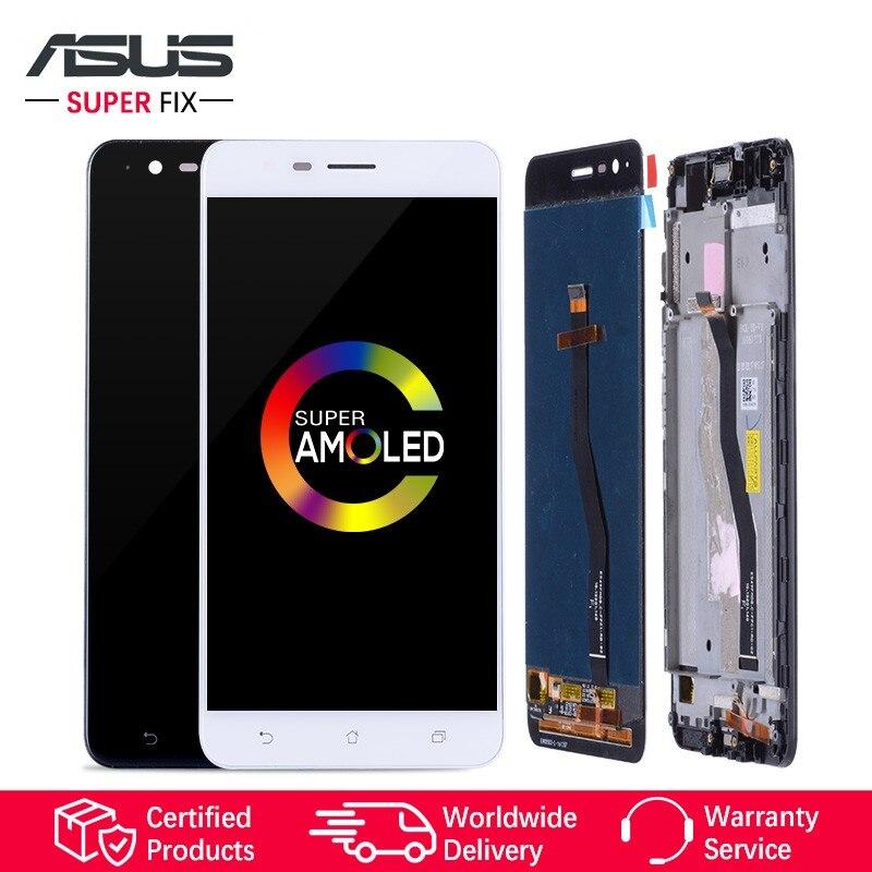 AMOLED 5.5 Affichage Pour ASUS Zenfone 3 Zoom ZE553KL Affichage LCD Écran Tactile Digitizer pour ASUS Zenfone Zoom S pas de Pixels Morts