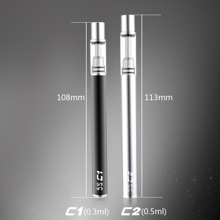Original Mjtech ThickOil Cartridge Cigarette Electronique 320mAh Battery Disposable E Cigarette Ceramic Coils Vape Air Vaporizer