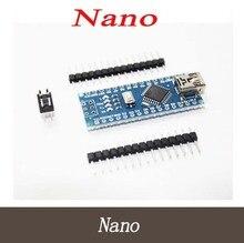 5PCS Nano 3.0 controller compatible with nano CH340 USB driver NO CABLE for Arduino NANO V3.0