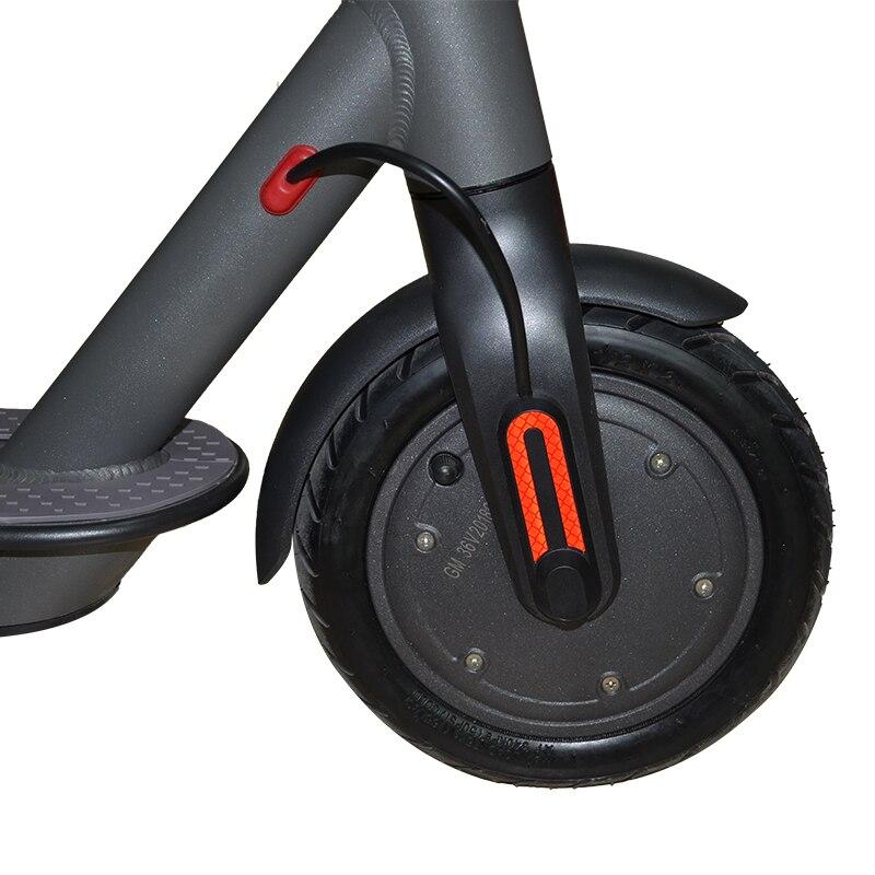 Pneu de scooter électrique de 8.5 pouces pneu de pneu d'air de 1 roue ou pneu solide moyeu d'alliage d'aluminium de 36 V conception d'usine de haute qualité pour xiaomi