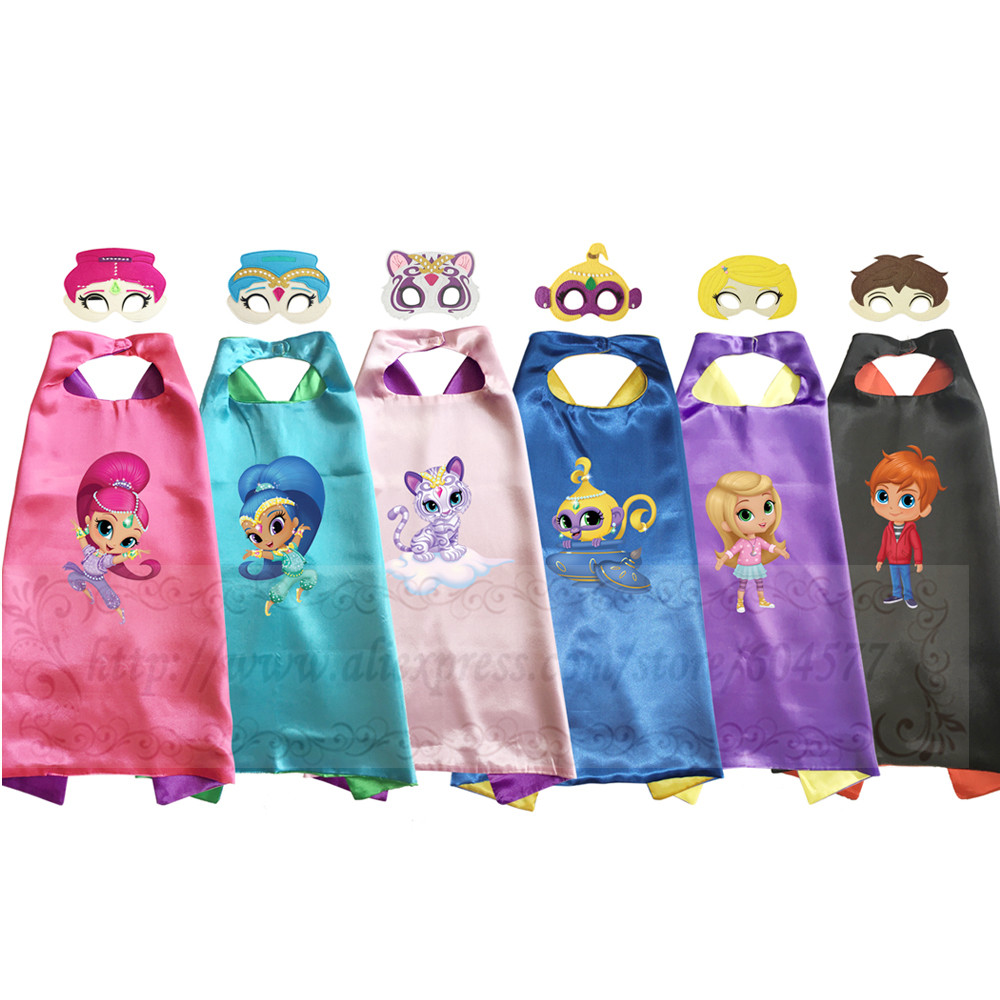 Shimmer and Shine Costume for Girls Halloween Costumes for Kids Birthday Party Favor Costume-in ...