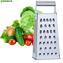 Vegetable Grinding Grater Planer Cheese Slicer Fruit Cutter Cooking Tool Kitchen Utensils Kitchen Accessories Box Grater 4 Side