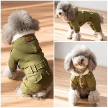 Thicken Dog Coat Pets Clothing Winter Warm Dog Clothes Jumpsuit Pet Outfit Roupa Cachorro Clothes for Small Dogs  XS S M L XL цена