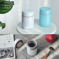 400ml vacuum insulated lunch box lunch box inside and outside 304 stainless steel crucible canister portable X 2204B
