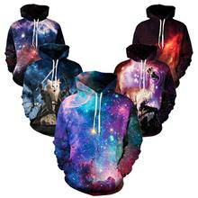 purple galaxy Nebula/thundercat/llama Hoodie all over print hoody sweatshirts men women warm clothing coat hooded outerwear
