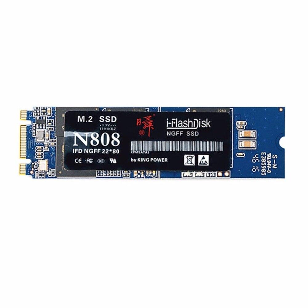 I-Flash SSD 128GB 128MB Cache M.2 Interface Hard Drives Fast Transmission DIY Small PC Solid State Disk Harddisk Drive Slim the ssd circuit board ssd pcba jmf612 jmf604 controller diy ssd sata3gb s interface ssd pcba flash interface tsop48