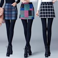 Autumn Winter Women Leggings Slim High Waist Thicker Legging one piece Legging Pantskirt Fashion Leggings Slim Skirts