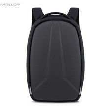 FANLOSN 28L Hard Shell Backpack EVA Men Women Mochila School Bags Business For 15.6 inch Laptop with USB Charging Port