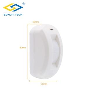 Image 2 - Проводной занавес PIR детектор занавес потолок окно пассивный инфракрасный детектор движения для дома охранная сигнализация система датчик движения