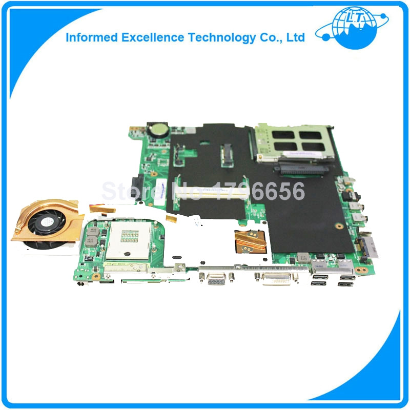 ФОТО For ASUS A6JM Laptop Motherboard System Board all functions Work Good