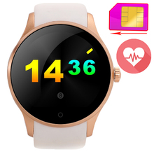 Heart Rate Monitor K88S Smart Watch Phone Bluetooth Sport Clock Support GSM SIM Card Handsfree Pedometer For iOS Android Xiaomi