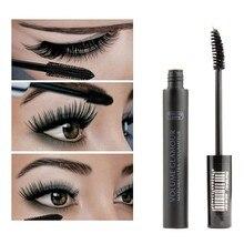 1pc Silk Fiber Eyelashes Lengthening Mascara Waterproof Long Lasting Lash Black Extension Make up 3D