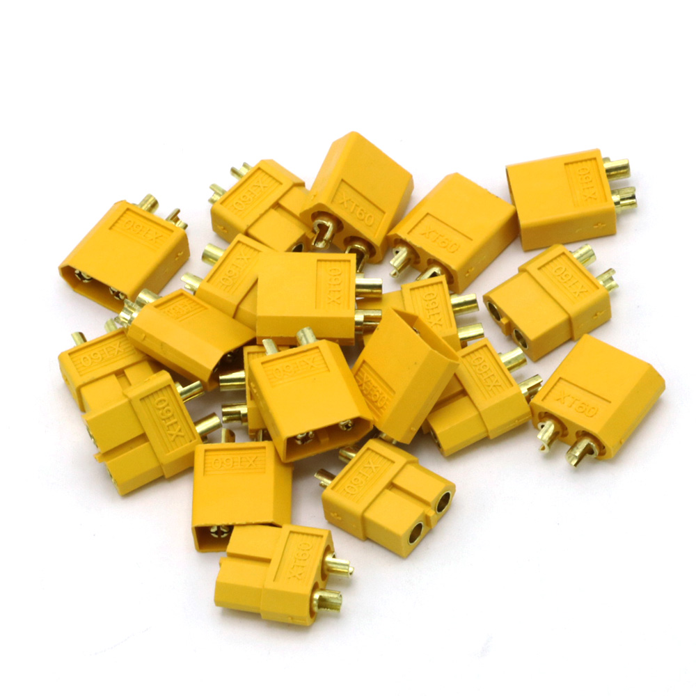 Image 5 - 100pcs High Quality XT60 XT 60 XT 60 Plug Male Female Bullet Connectors Plugs For RC Lipo Battery (50 pair) Wholesale-in Parts & Accessories from Toys & Hobbies