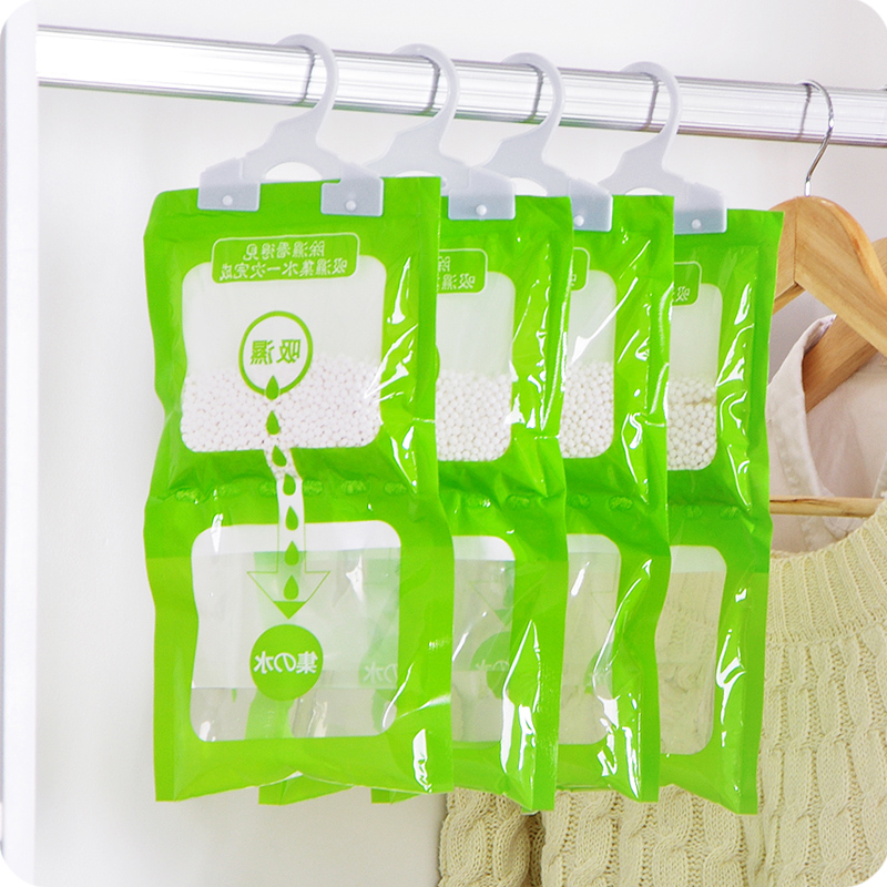 Moisture-proof Desiccant Hanging Closet Kitchen Cabinet Drawer Moisture Absorbant Shoes Dryer Anti-mold Dehumidifier Car