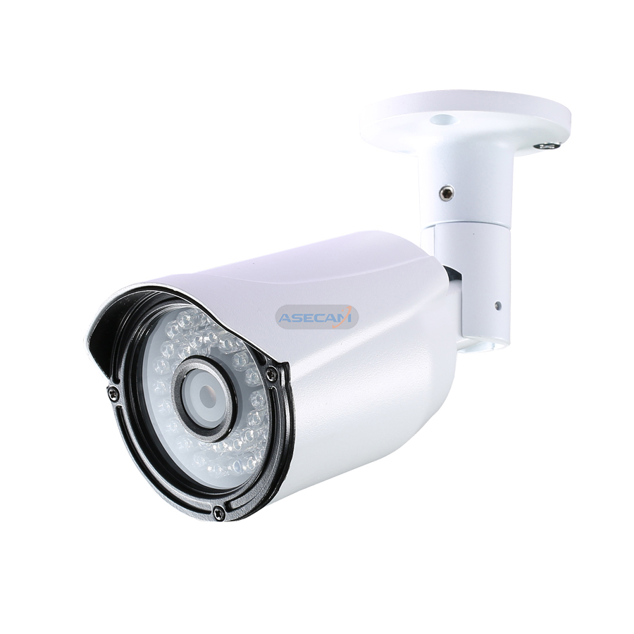 New Super HD 4MP H 265 5MP Security IP Camera Onvif Metal Bullet Waterproof CCTV Outdoor PoE Network Email Image alarm ipcam in Surveillance Cameras from Security Protection