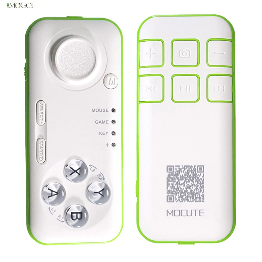 Multifunction Gamepad Portable Wireless Bluetooth Remote Mini Gaming Controller For Android iOS Cellphone PC Tablet