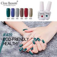 Clou Beaute 244 Cores Nail Art Manicure Gel Polonês esmaltes permanentes de uv levou Unha Polonês Gel Verniz Soak Off verniz Gel