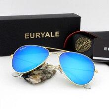 EURYALE 3O25 Classic Fashion Men/womens Sunglasses Reflective Coating Lens Eyewear Accessories Sun Glasses For Men/Women