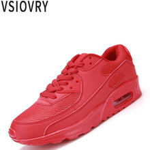 VSIOVRY Unisex Sneakers 2018 New Men Shoes Mesh Breathable Casual Shoes Lightweight Male Trainers Shoes Summer Soft Sneakers