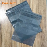50/100/300PCS/lot gray self sealing plastic pags, small plastic ziplock bags premium poly flat red plastic zip lock pouches
