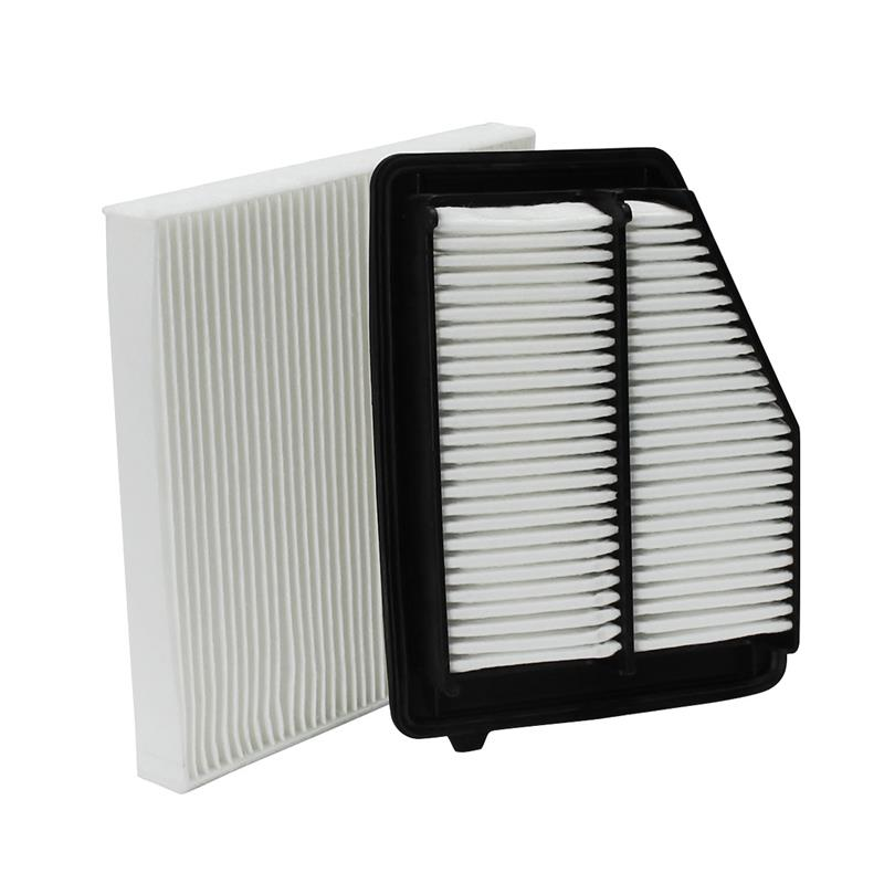 2 Pcs/Set Car Engine Cabin Air Filter For HONDA /CIVIC WIX