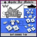 Ace Spade T-64 SAT35008S 1/35 Faixa De Metal Russa