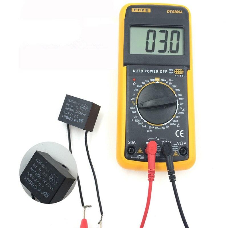 Digital Multimeter Tester Voltage Ammeter Meter Measuring Instrument Multimetro Digitais Professional Diagnostic Tool