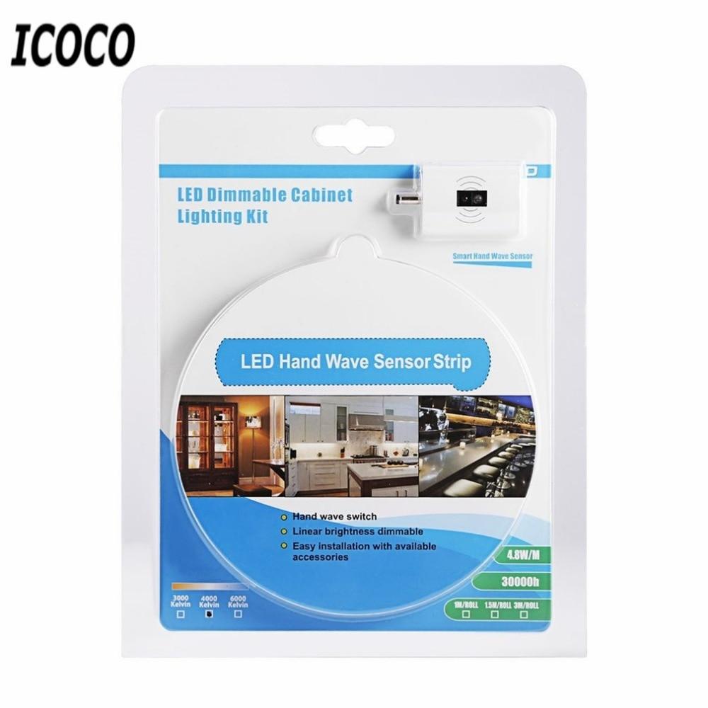 Tiras de Led icoco 3 m 12 v Tensão : 100-240v