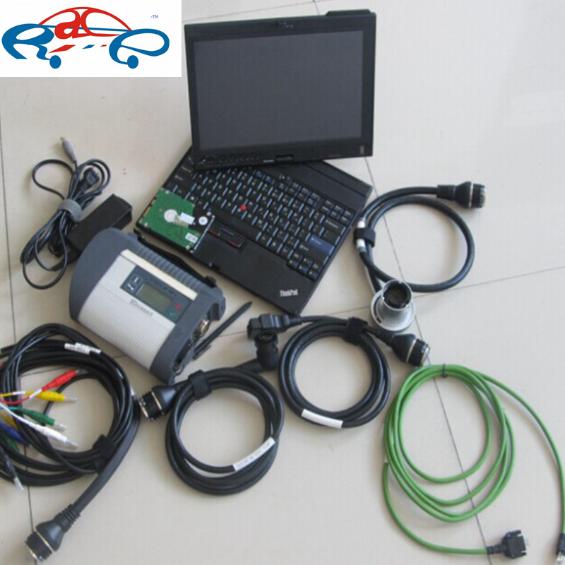 2016 Wifi mb star c4 with hdd mb sd connect c4 V2016.12 in x200t laptop ready to work for mb star diagnostic tool