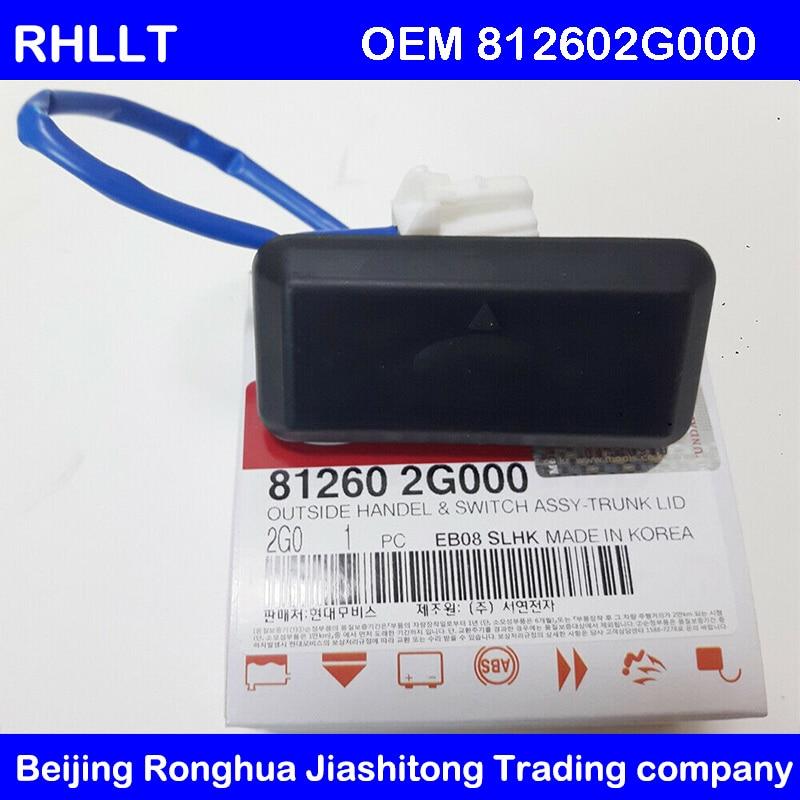 Genuine Trunk Handle Switch Fits 812602G000 for KIA 09 15 Optima 14 18 Porte OEM 812602G000