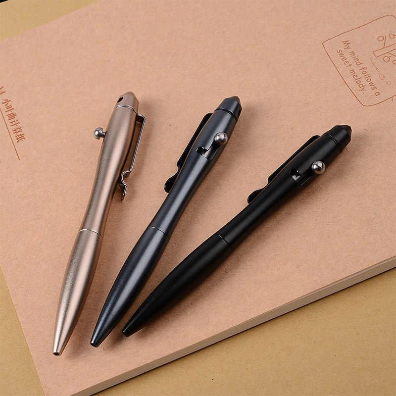 מכירה לוהטת עמיד טונגסטן פלדת זכוכית מפסק Defensa אישי כתיבה עט חיצוני ספורט טיולים טקטי להגנה עצמית