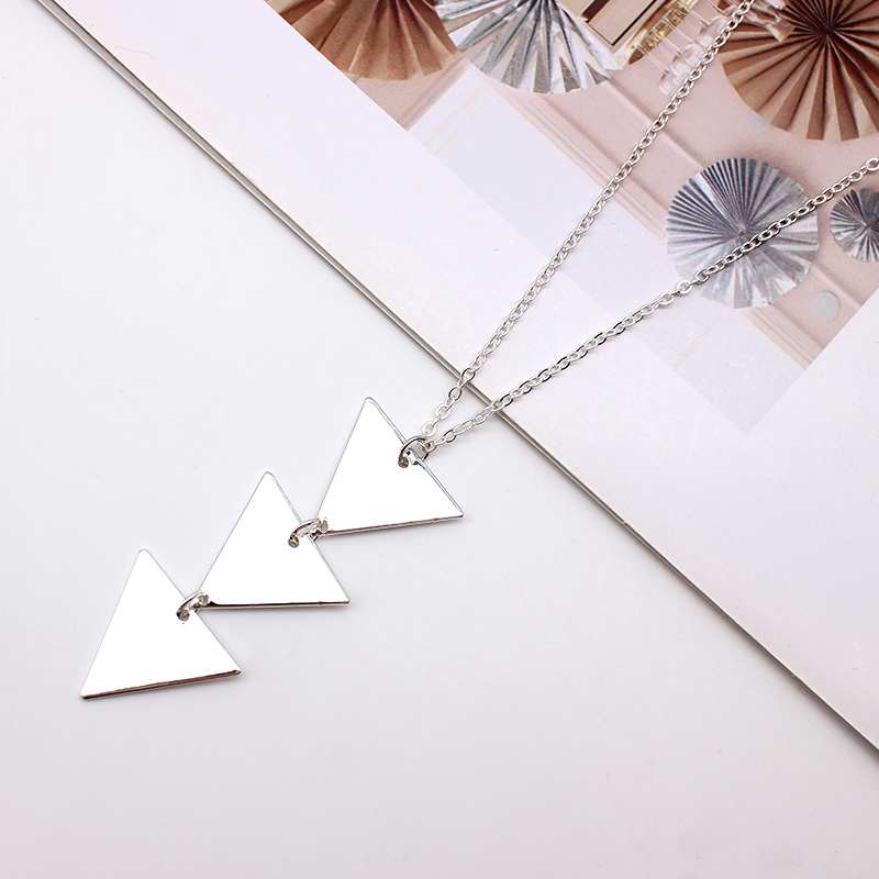 2019 NEW pendant Necklace geometric Long Chain Women choker Necklace Chocker collana Bijoux Collier Femme Joyas