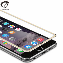 Tempered glass screen protector For iphone5 5S SE 6 6S plus phone Accessories 3D Edge Full