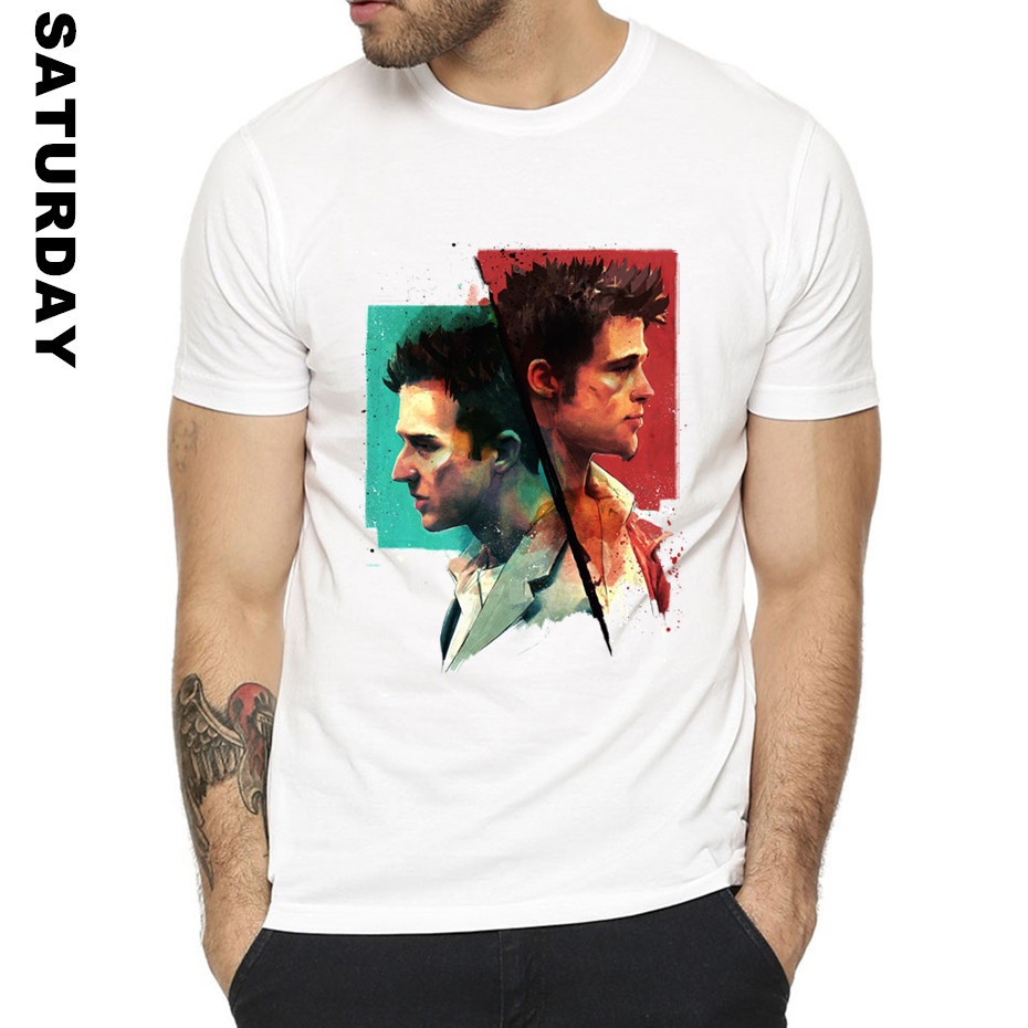 Fight Club Design T Shirt for Men and Women,2019 Unisex Comfortable Breathable T-Shirt Men's Streewear