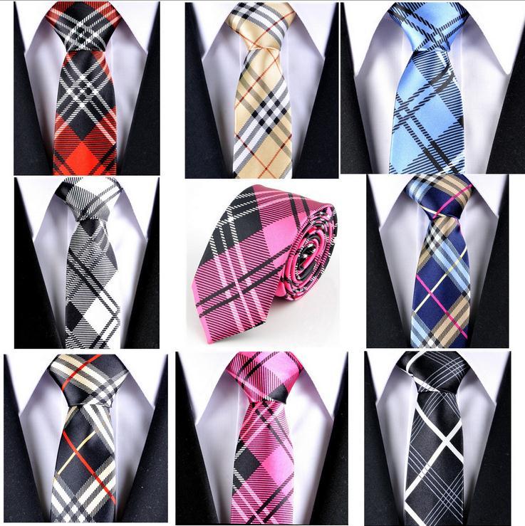 17 Colors Business party Slim Norrow Tie For Men 5cm Casual Arrow Skinny Satin Necktie  Fashion Young Man Accessories Gravata