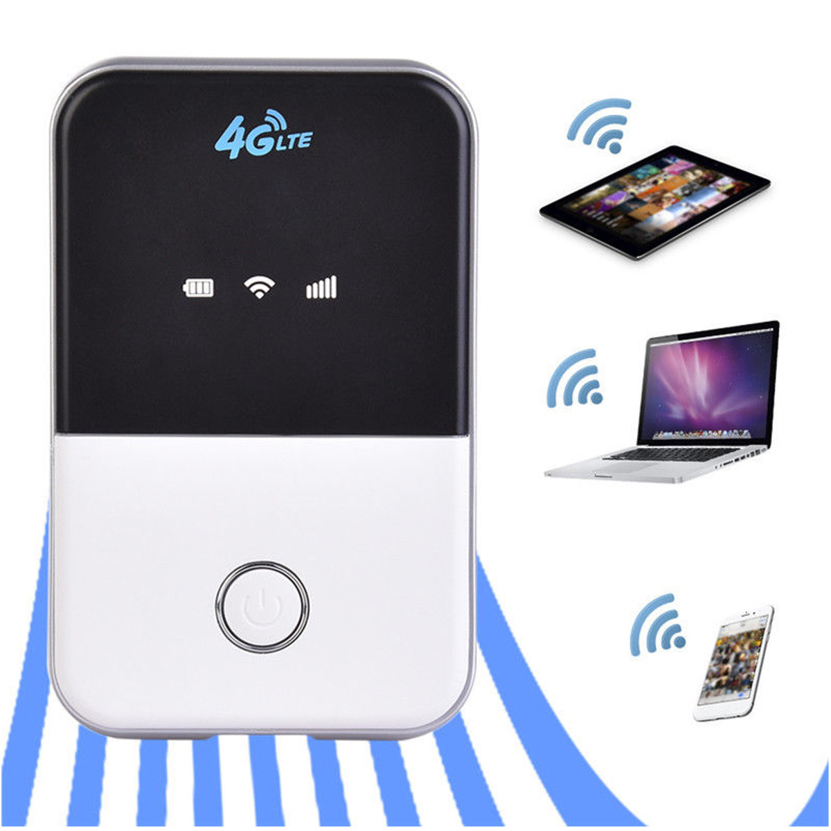 цена на Portable 3G 4G Router LTE 4G Wireless Router Mobile Wifi Hotspot SIM Card Slot for Mobile Phone