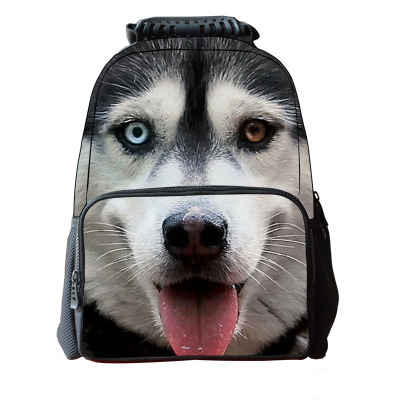 filhote de cachorro animal 1680D poliéster mochila.