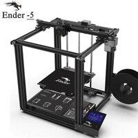 2018 высокая точность 3D принтеры Ender 5 большой размеры V1.1.3 материнская плата Cmagnetic сборки пластины, мощность off резюме легко biuld Creality