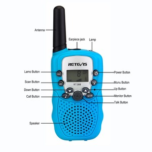 Image 5 - 1pc Mini Walkie Talkie Kinder Radio Retevis RT388 0,5 W UHF 462 467MHz UNS Frequenz Tragbare Zwei weg Radio J7027