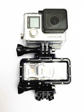 RB For GoPro Accessories Waterproof LED Video Light Underwater Dive Diving Battery Adapter Mount for GoPro SJCAM GP269
