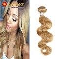 Honey Blonde Brazilian Hair Weave Bundles Color 27# Brazilian Body Wave Human Hair 8A Grade Brazilian Virgin Remy Hair Extension