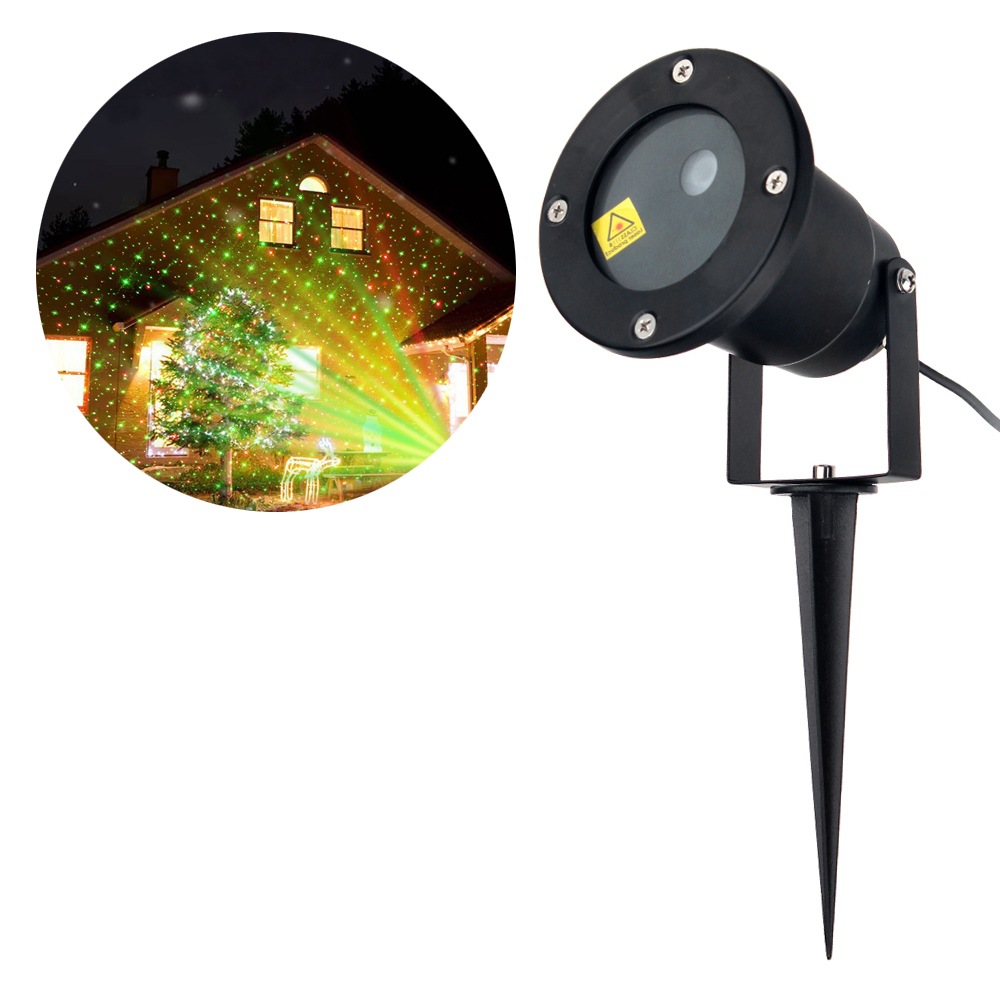 1pcs Beads 5M Cable Waterproof Laser Projector Lawn Light Dynamic Liquid Sky Landscape Wedding Lamp Animated Moving Stars Lights