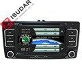 Isudar Автомагнитола с Сенсорным 7 Дюймовым Экраном Для Автомобилей SKODA Octavia 2009-2013 Bluetooth IPOD FM Радио RDS WIFI DVR SD  - фото