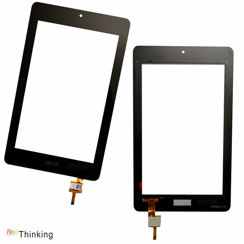 NeoThinking 7 Inch For Acer Iconia One 7 B1-730HD B1-730 B1 730HD 730 Touch Screen Digitizer Glass Replacement free shipping new 7   inch for acer iconia one 7