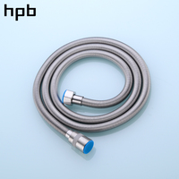 HPB G1/2 SUS304 Enhanced Plumbing Hoses Tube Bathroom Shower Set Accessories Hand Hold Shower Pipe 2.0m 1.5m 1m HP7109