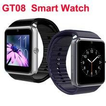 Original Smart Watch GT08 Bluetooth Smartwatch Armbanduhr Universal Für Android Smartphones Mit NFC Schrittzähler SMS CXF129