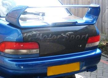 Accessori Per auto In Fibra di Carbonio OEM Tronco Boot Lid Fit For 1993-2001 Impreza Impreza WRX STI GC8 Posteriore Bootlid Portellone