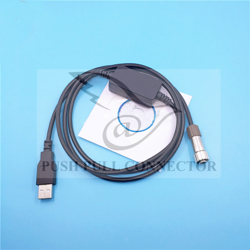 High quality DOC210 USB Data Cable for Topcon ES OS Series Sokkia CX FX SX Total